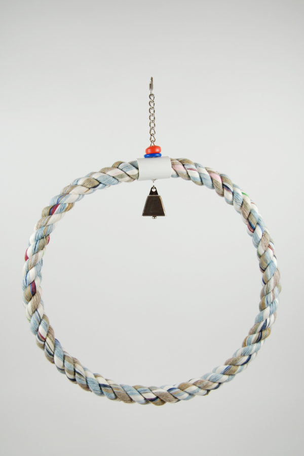 "18"" Rope Swing with Bell"