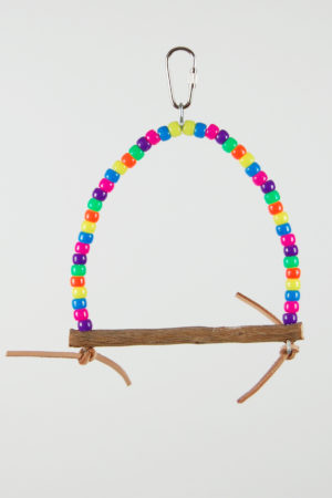 Canary/Finch Bead Swing
